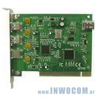 IEEE 1394 FireWire Card 3+1 port (oem)