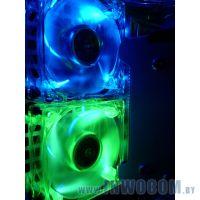 80x80x25mm UV Reactive Fan Green, 2000rpm\24dB