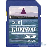 SD Card 2Gb Kingston (Ret)