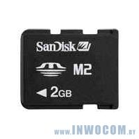 Memory Stick Micro (M2) Sandisk 2Gb + adapter (oem)