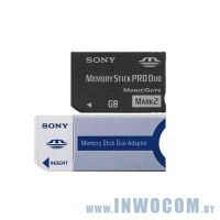Memory Stick Sony PRO Duo (Mark 2) 1024 Mb + adapter