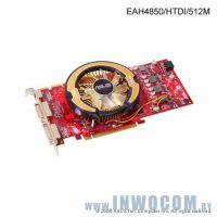ASUS EAH4850/HTDI 512Mb PCI-E 2DVI (Ret)