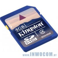 SD Card 4Gb Kingston Class 4
