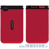 2.5 250Gb Transcend StoreJet 2.5 Mobile Red (TS250GSJ25M-R)