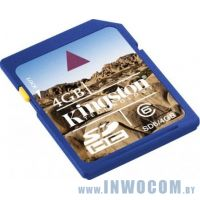 SD Card 16384mb Kingmax Class 4 SDHC (Ret)
