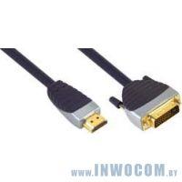 HDMI-DVI, 2м Titan (TTW-DV13220)