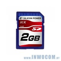 SD Card 2Gb Silicon Power 80X