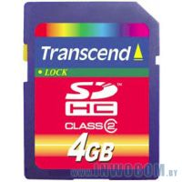 SD Card 4096mb Transcend (TS4GSDHC2) Class 2