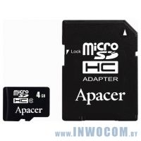 SD-micro Card 4096mb Apacer Class 4