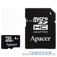 SD-micro Card 4096mb Apacer Class 4