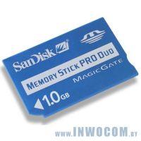 Memory Stick Pro Duo Sandisk 1Gb (oem)