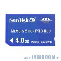Memory Stick Pro Duo Sandisk 4Gb (oem)