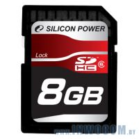 SDHC Card 8Gb Silicon Power Class 6 (Ret)