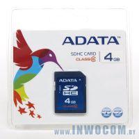 SDHC Card 4Gb A-Data Class 6