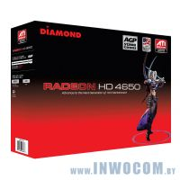 Diamond ATI Radeon HD 4650 512MB, DDR3, 128bit, AGP (Ret)