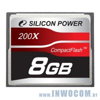 CF Card 8Gb Silicon Power 200x