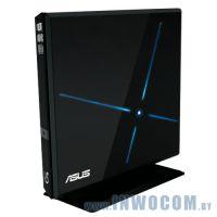 ASUS  SBC-06D1S-U, USB, лоток, Slim, черный, RTL