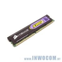 1Gb PC-6400 DDR2-800 Corsair CAS with Heat Spreader (5-5-5-18)