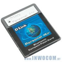 Bluetooth D-Link 1.1 CompactFlash Card (DCF-650BT)