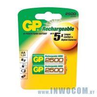 GP 250AAHC-2CR2 2500mAh AA 2шт