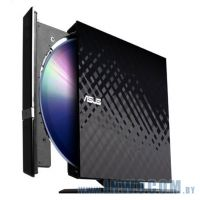 ASUS SDRW-08D2S-U, Black USB, лоток, Slim, RTL