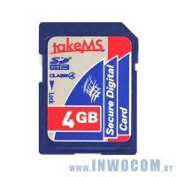 SDHC Card 4Gb Take-MS MS4096SDC-HC4R