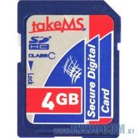 SDHC Card 4Gb Take-MS MS4096SDC-HC6R