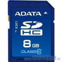 SDHC Card 8Gb A-Data Class 10