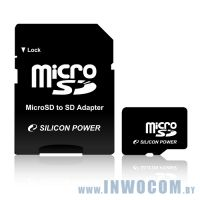 SD-micro Card 8Gb Silicon Power Class 6 SP008GBSTH006V10-SP