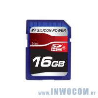 SDHC Card 16Gb Silicon Power Class 6 SP016GBSDH006V10