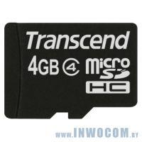 SD-micro Card 4Gb Transcend Class 4 TS4GUSDHC4