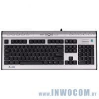 A4Tech KLS-7MUU Silver-Black Multimedia, USB