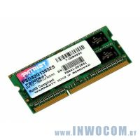 4Gb PC-10660 DDR3-1333 Patriot (SODIMM)