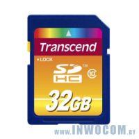 SDHC Card 32Gb Transcend Class 10 (TS32GSDHC10)