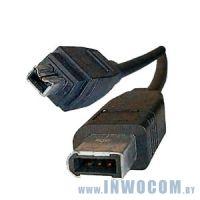 Кабель соединительный 1394 (Fire Wire) 6p-4p BANDRIDGE VCL6202 2м.