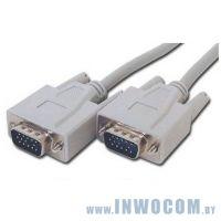 Мониторный кабель SVGA 15m/15m Gembird 10м (CC-PPVGA-10M)