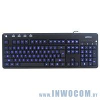A4Tech KD-126 1 Black синяя подсветка USB