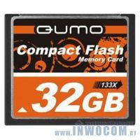 CF Card 32Gb QUMO 133x QM32GCF133