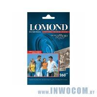Бумага Lomond A6 (10x15) 260 г/м2 односторонняя cуперглянцевая  (20л)