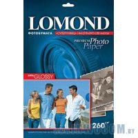 Бумага Lomond A4 260 г/м2 односторонняя cуперглянцевая (20л)