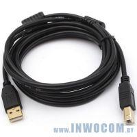 Кабель соединительный USB 2.0 PRO Am-Bm 1.8m Sven