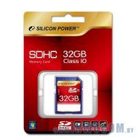 SDHC Card 32Gb Silicon Power Class 10 (SP032GBSDH010V10)