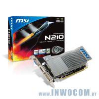 MSI N210-MD1GD3H/LP 1Gb DDR3 HDMI (64bit) (Ret)