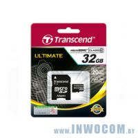 SDHC-micro Card 32Gb Transcend Class 10 TS32GUSDHC10