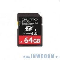 SDXC Card 64Gb QUMO Class 10 QM64GSDXC10