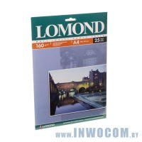Бумага Lomond A4 160 г/м2 односторонняя глянцевая 25л