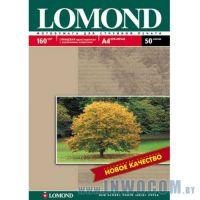 Бумага Lomond A4 160 г/м2 односторонняя глянцевая 50л
