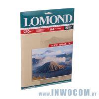 Бумага Lomond A4 230 г/м2 односторонняя глянцевая 25л