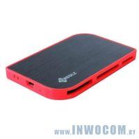 Flash-Card Reader KREOLZ  CR-XC777 черно-оранжевый