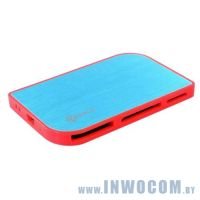 Flash-Card Reader KREOLZ  CR-XC777 сине-оранжевый